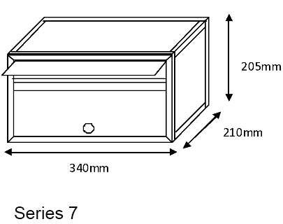 Series 7 Mailsafe Mailbox diagram