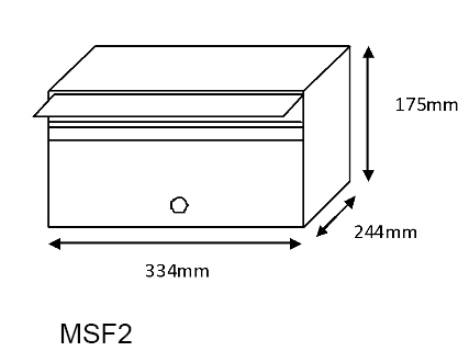MSF2 Mailsafe Mailbox diagram